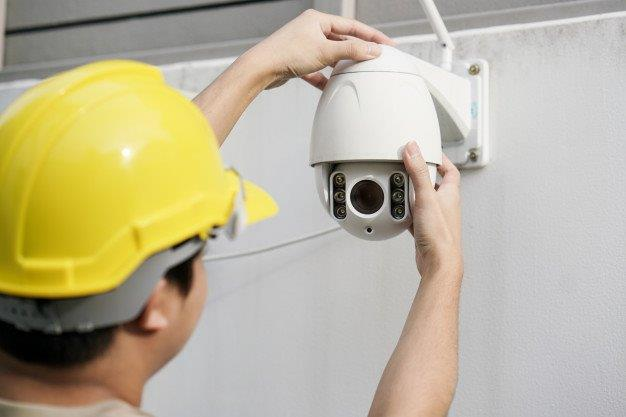 Serviço de instalação de cameras de segurança