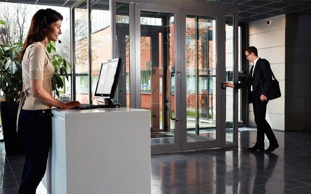 Sistema de controle de acesso para empresas