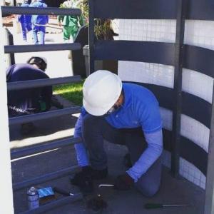 Instalação de torniquete